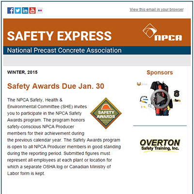 Safety Express Newsletter