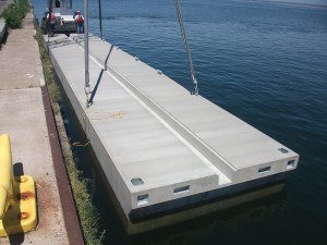 Jefferson Concrete Corp. - Floating Dock