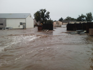 Colorado Precast Flooding