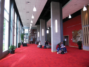 Schrott Center Lobby