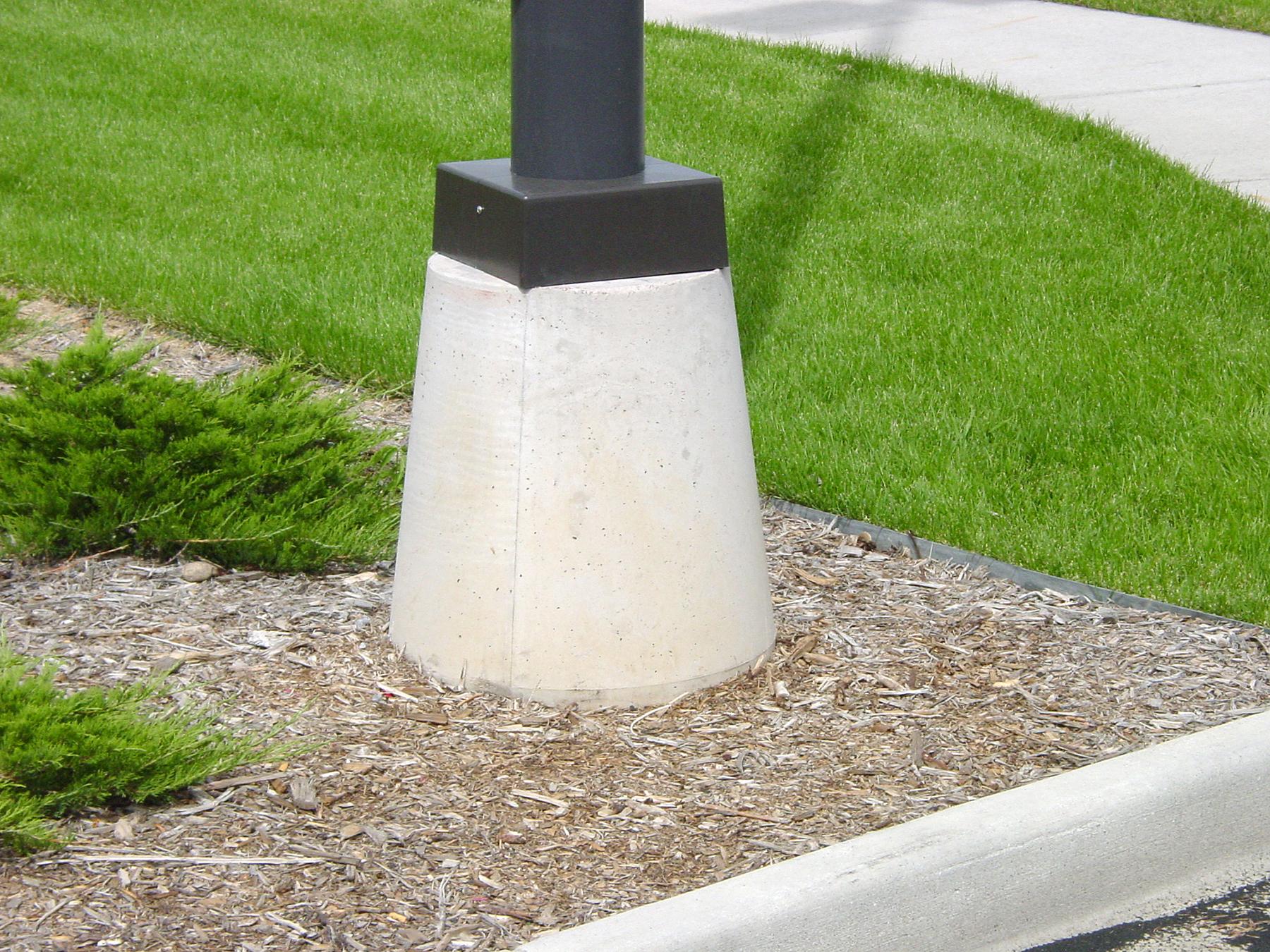 Precast Concrete Pole Bases : Additional precast concrete products npca