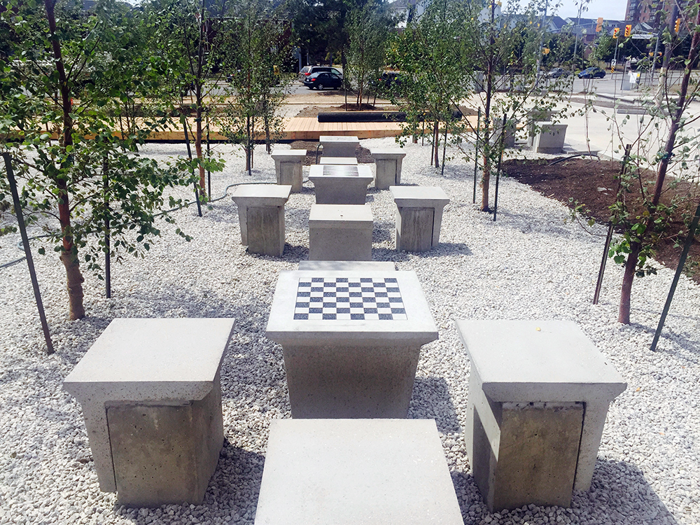 Precast Concrete Game Tables