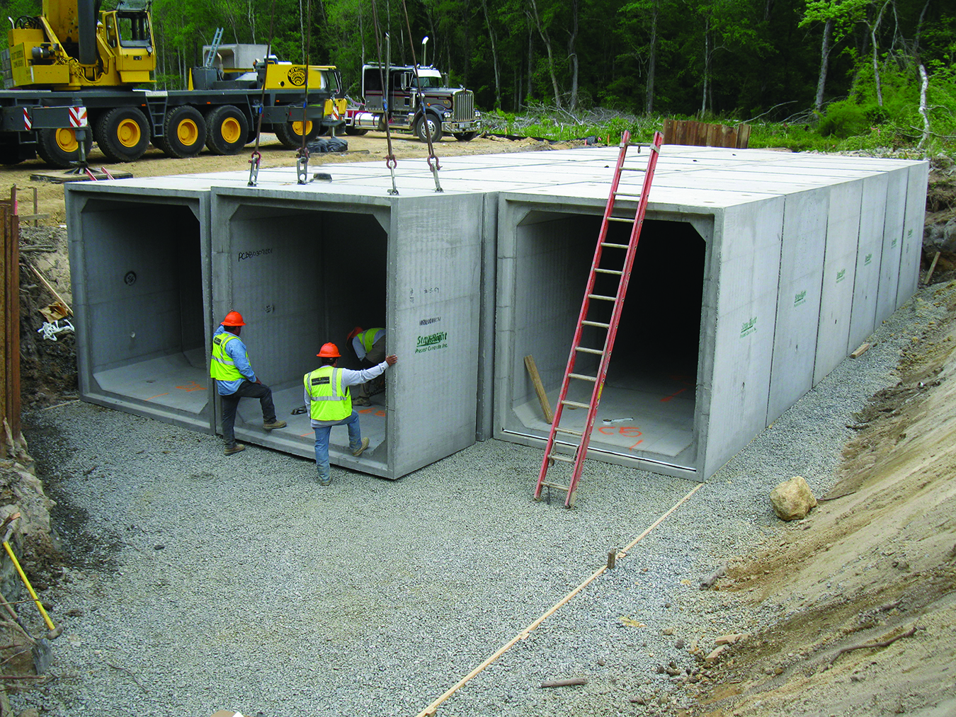 Use box culverts for fast bridge replacement npca for Precast concrete home designs