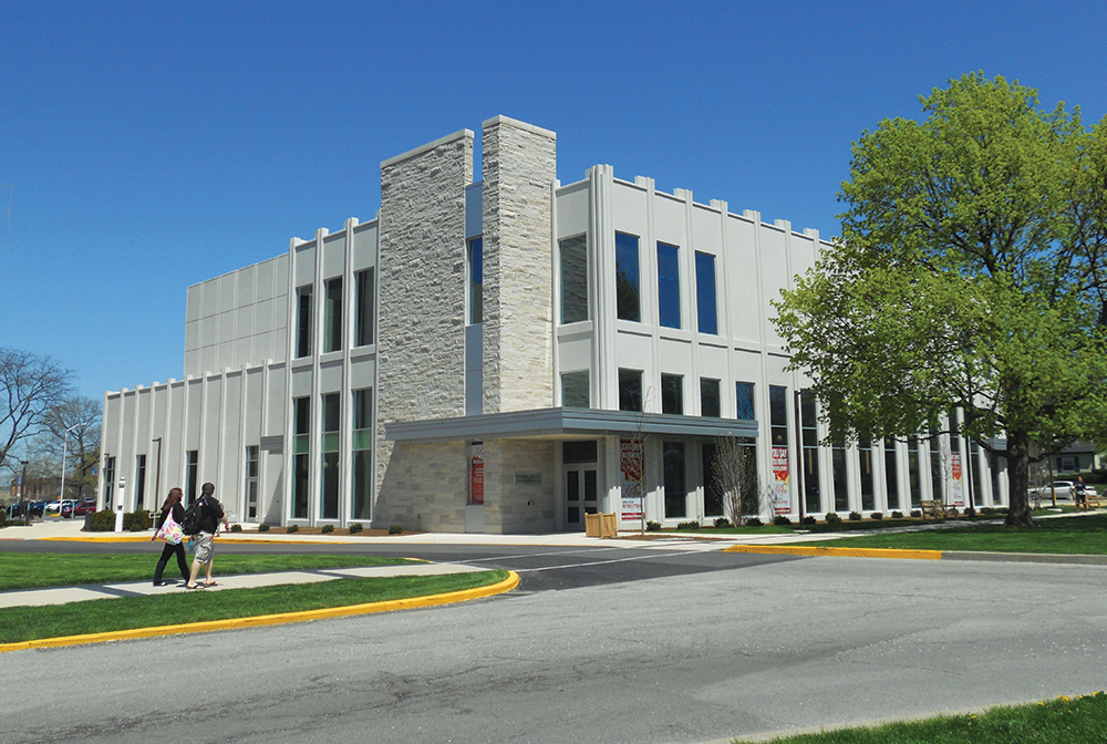 Schrott Center Exterior Precast