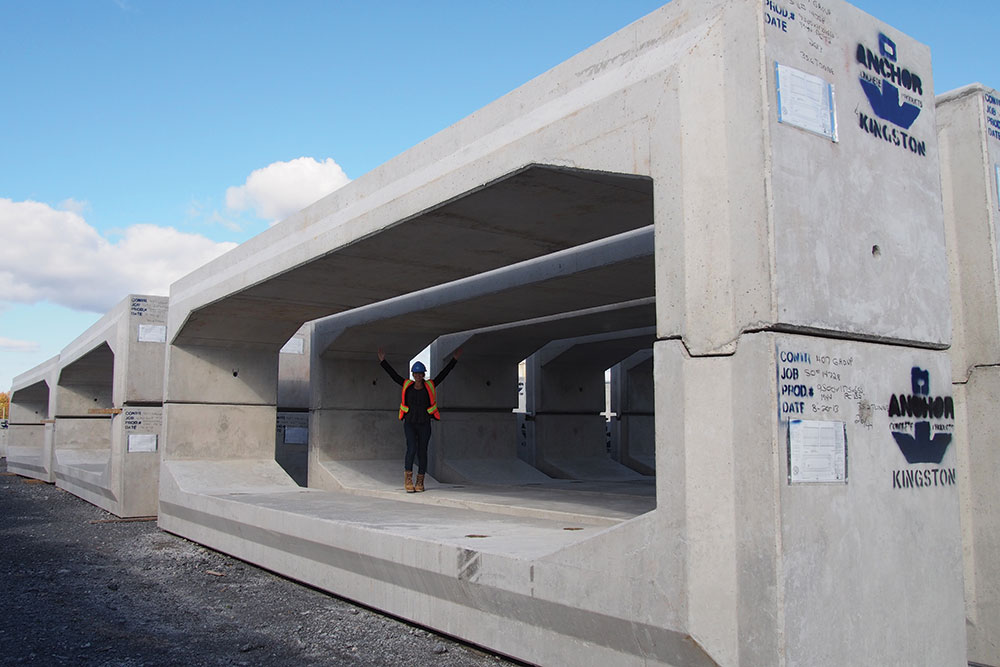 Precast concrete culvert more than meets the eye npca for Precast concrete home designs