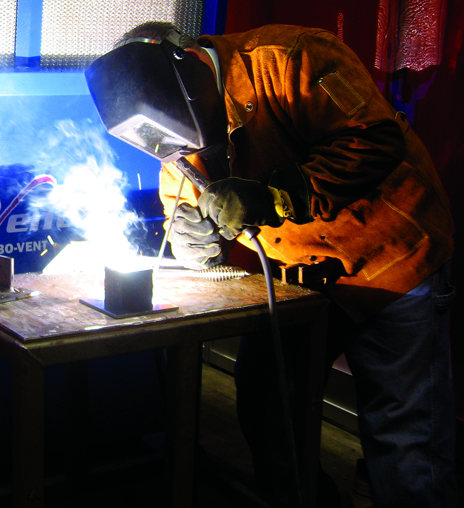 AWS Detroit Section gas tungsten arc welding (GTAW) process industrial application WELDER