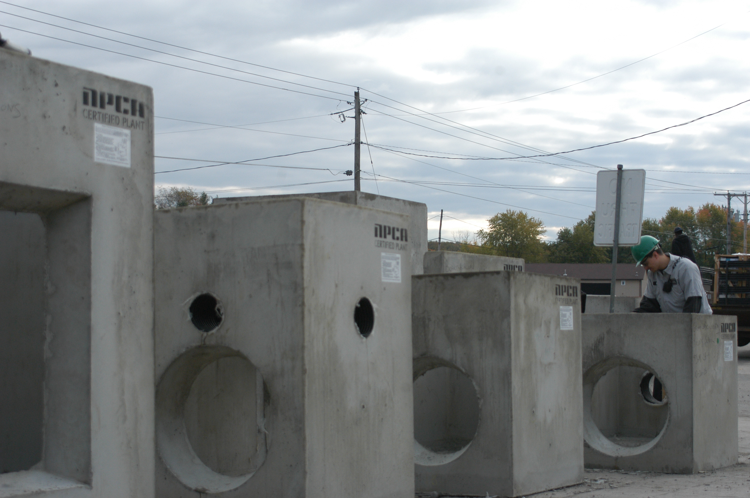 Curb Inlets and Catch Basins - NPCA for Concrete Catch Basin  173lyp