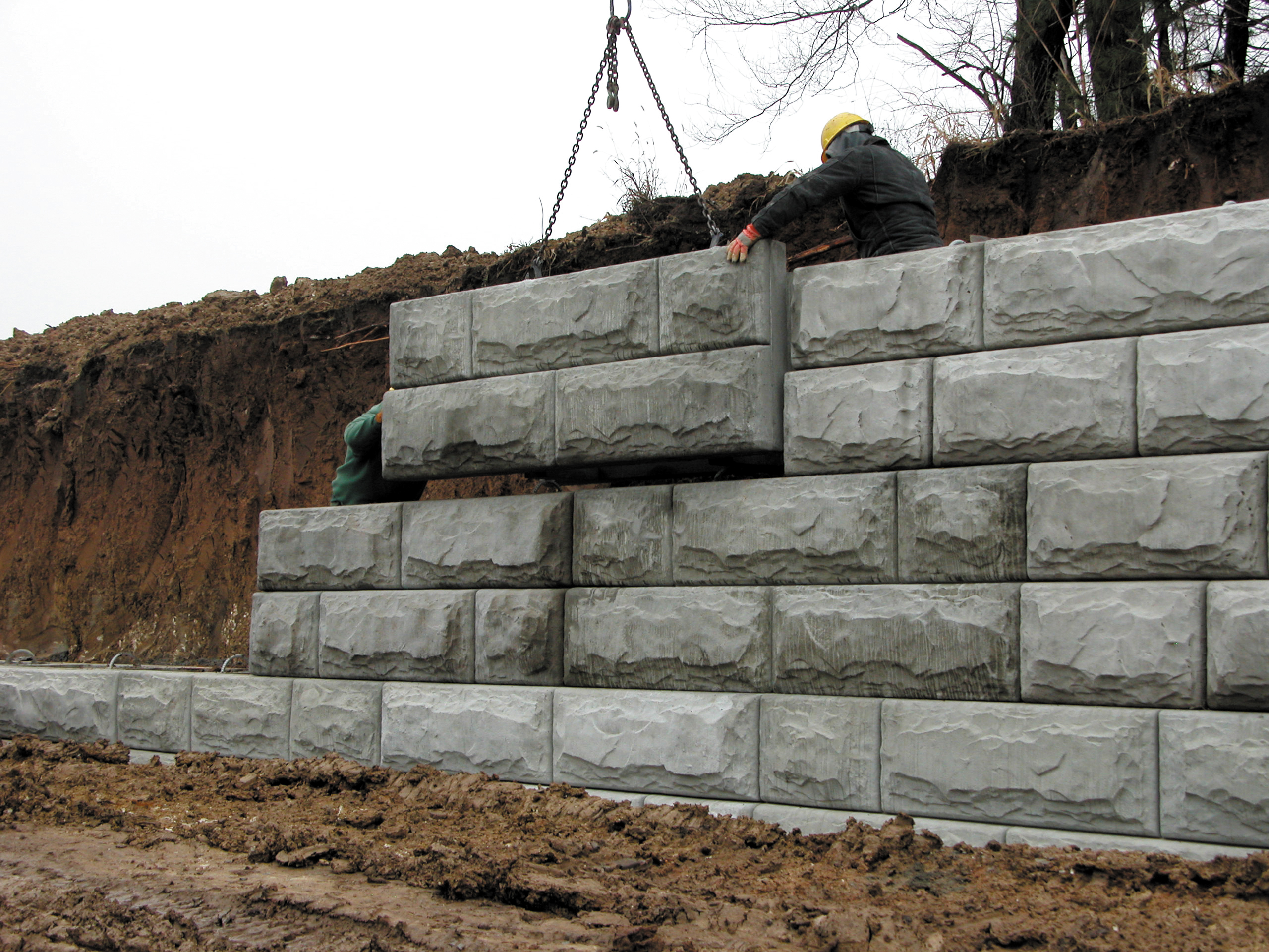 Prefab Concrete Walls : Retaining walls national precast concrete association