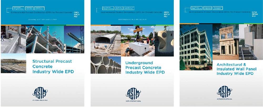 Environmental Product Declarations are now available for underground, structural and architectural precast concrete products.